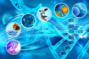 Современный центр генетических исследований ДНК